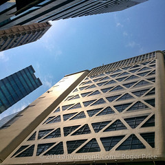 Looking up in Sheung Wan...