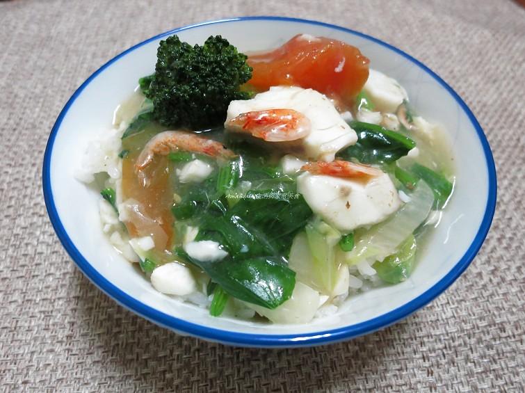 櫻花蝦飯,燴飯,蔬菜燴飯,蔬菜燴飯食譜 @Amanda生活美食料理