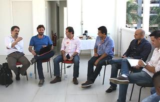 Diógenes Sandim, Jefferson Coriteac, Paulinho da Força, David Martins, Michel e Vagner