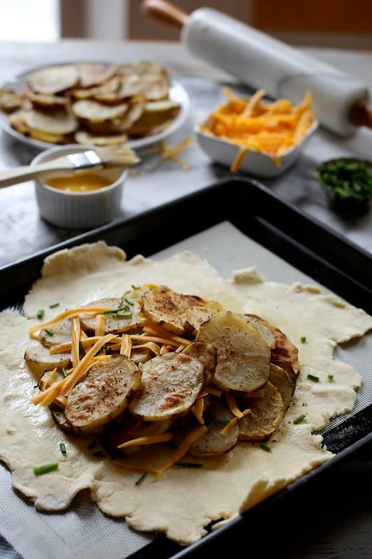 Roasted Potato Galette