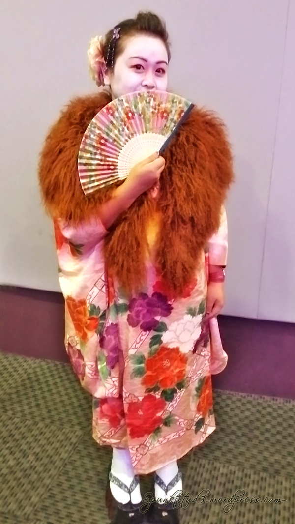 Look of the Day - Geisha