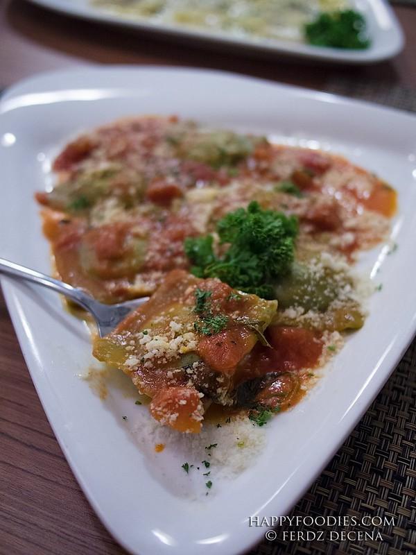 Ravioli Con Spinaci