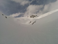 Aufstieg Magerstein Skitour