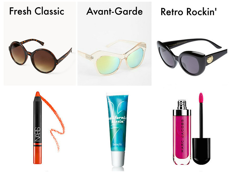 Guest Post | Sunglasses And Bright Lips