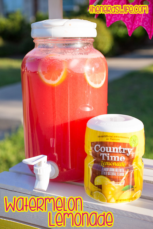 Watermelon Lemonade Recipe #Shop