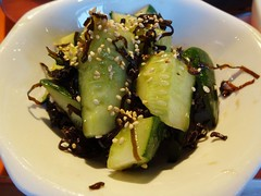 Cucumber and Salt Seaweed @Stamina-En, Hongmei Roa…