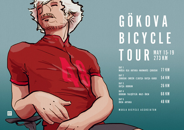 waiting for gokova bicycle tour