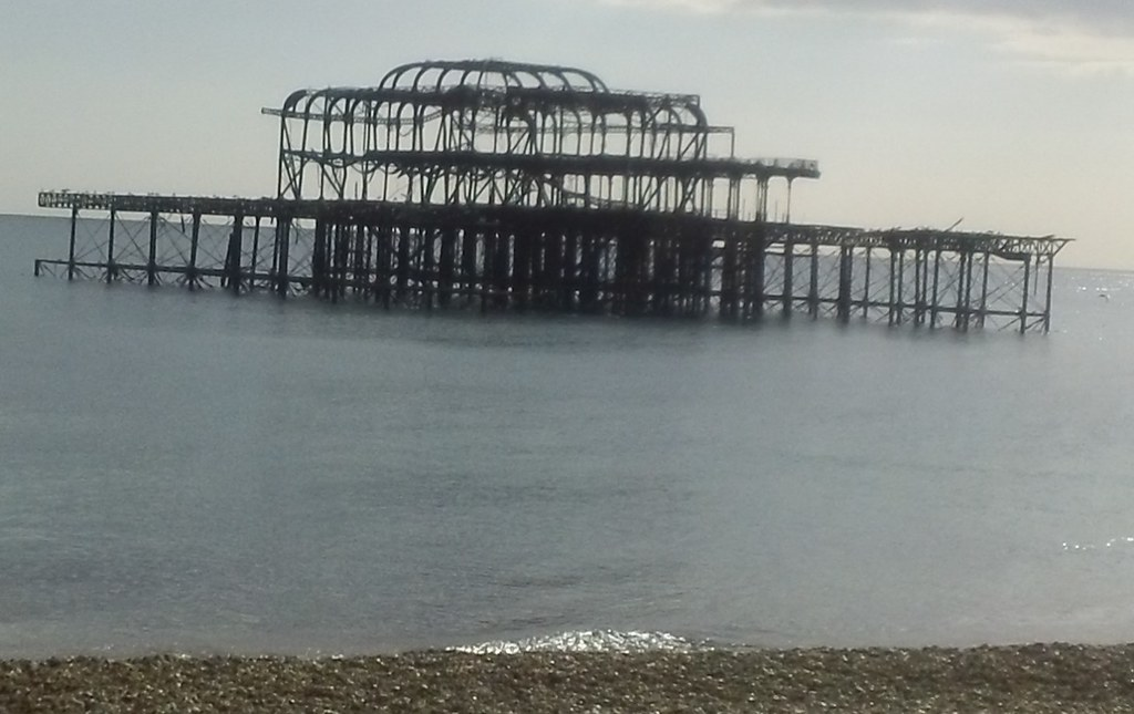 Old Pier, Brighton but there's another one further east