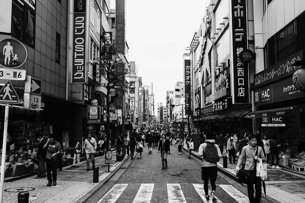 横浜×モノクロ⑦