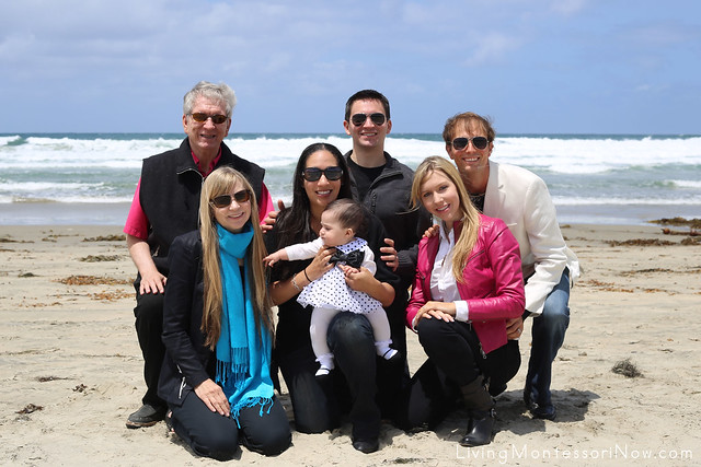 My Family at La Jolla Shores
