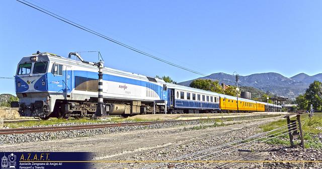 El Tren Azul regresa.