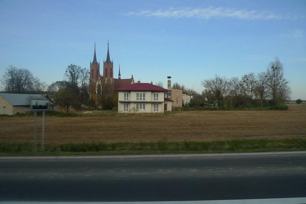 Itä-Puolan maanteitä pitkin Zamośćiin