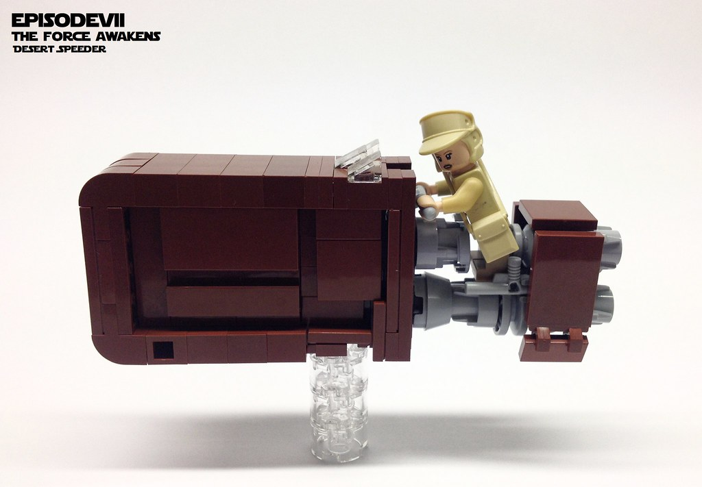 Desert Speeder, by markus1984, on Eurobricks