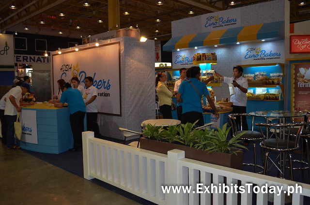Euro Bakers exhibit booth
