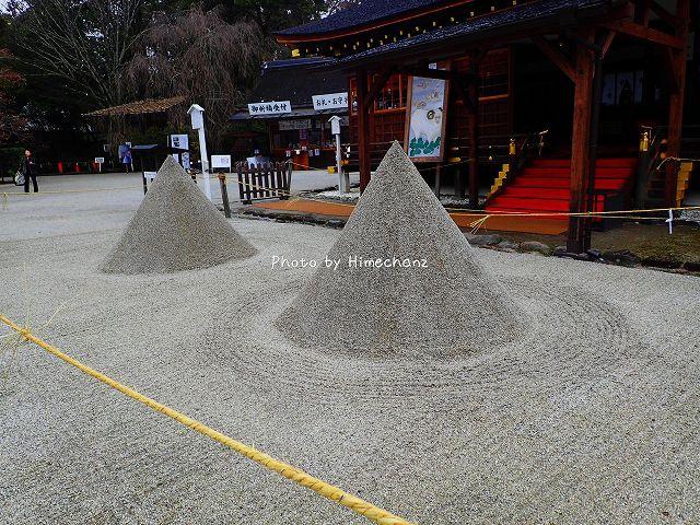 陰陽動が色濃く残る立砂