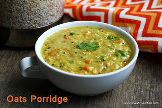 oats masala porridge