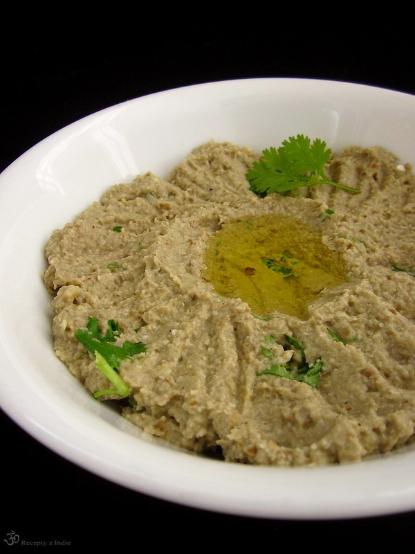 Baba ghanoush with the twist