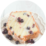 Low Fat Blueberry Cake