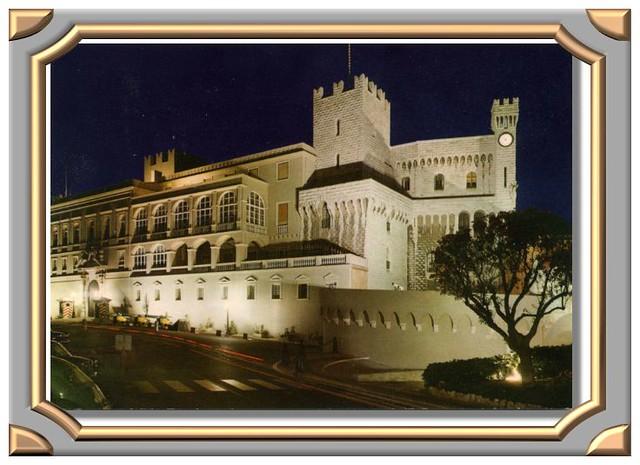 MONACO Le Palais de S.A.S. le Prince de Monaco.