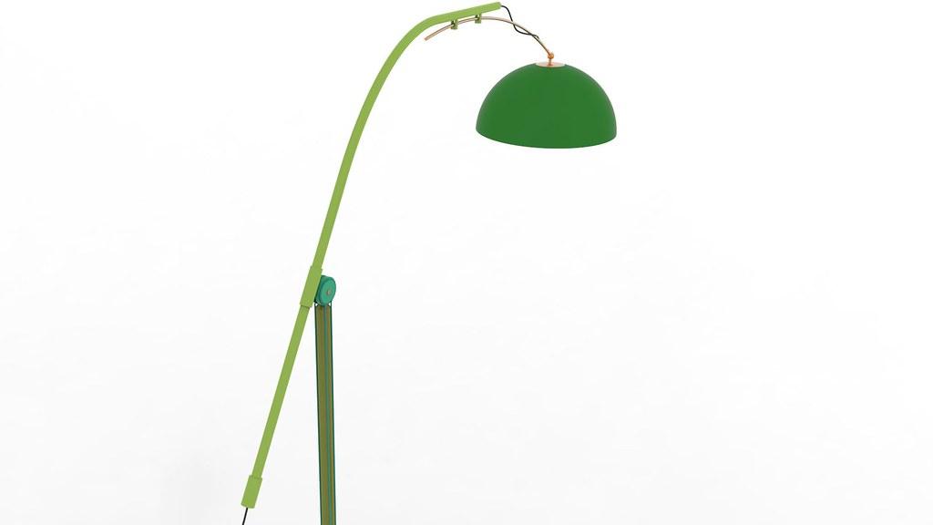 3d Lamps Textured 3d Model