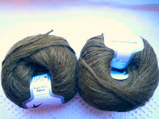 Olive yarn