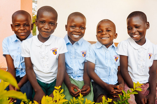New uniforms make 8,500 mile journey to our Uganda students; orphan home improvements begin