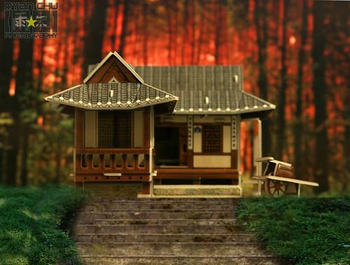 Korea traditional residences