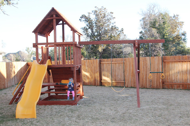 Harper's new playscape