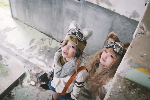 Steampunk × wolf
