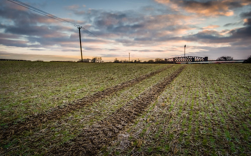 travel bridge winter rural sunrise landscape countryside flickr transport olympus hampshire omd basingstoke lightroom 2015 m43 mft em5 enfuse battledown lr5 microfourthirds 918mm mzuiko