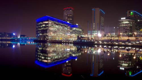 Salford City Night