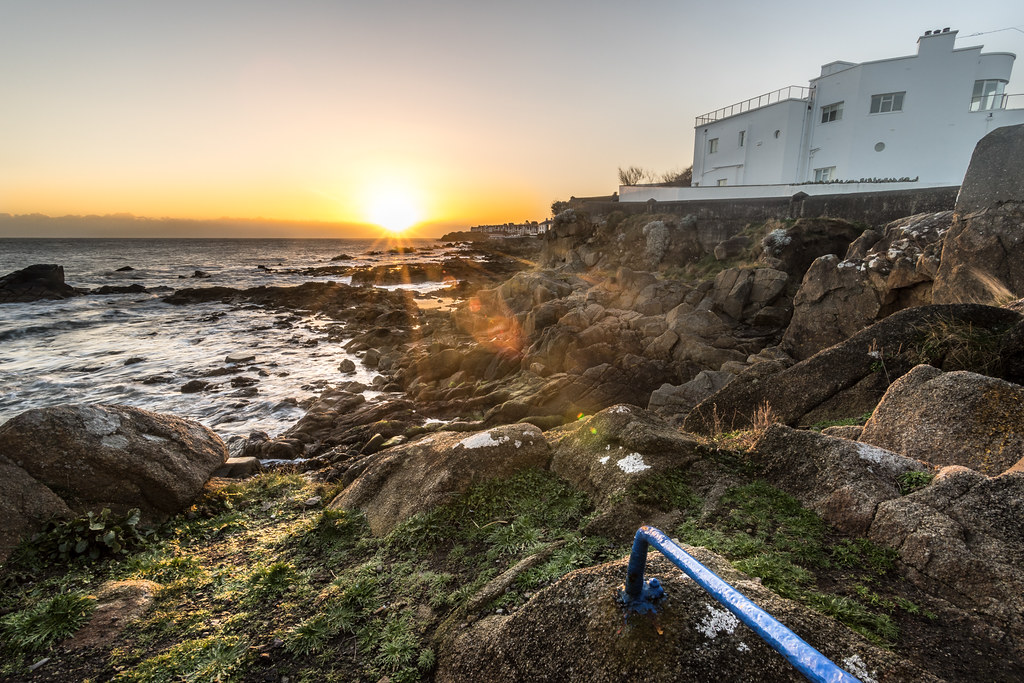 The house by the sea, Sandycove, Dublin, Ireland picture