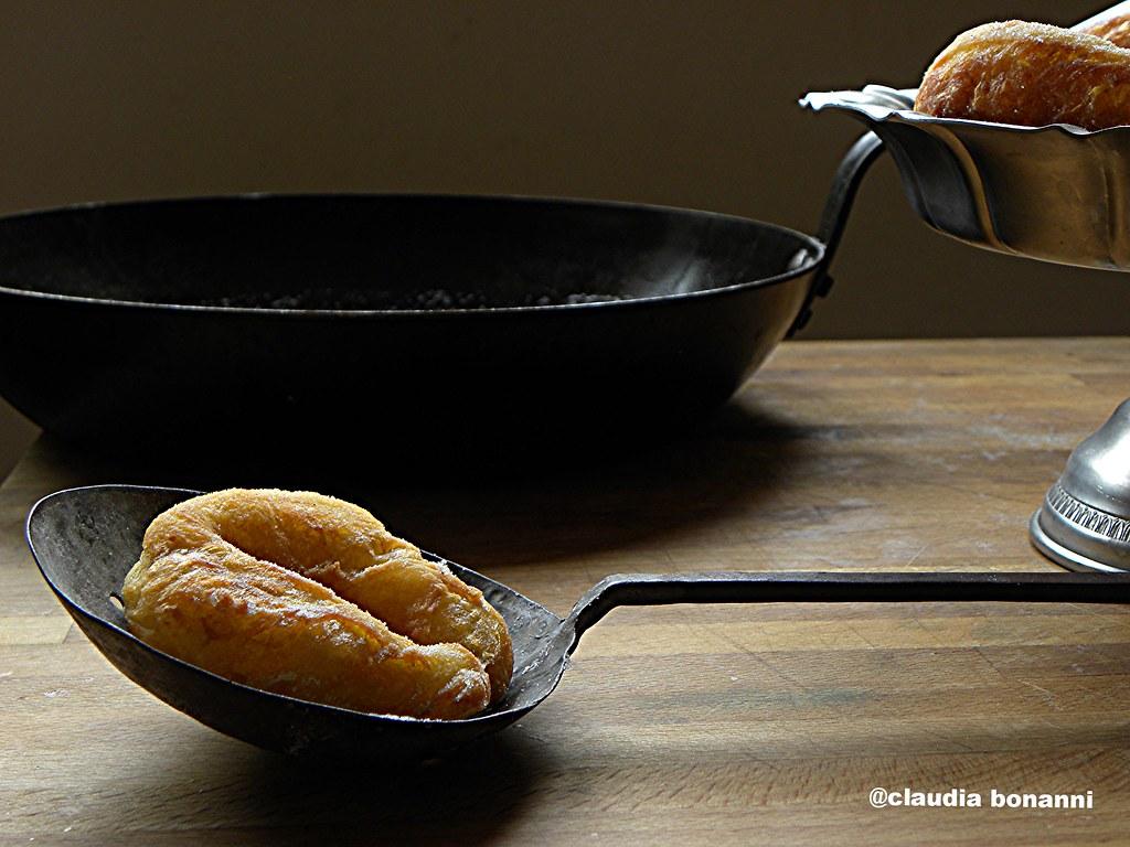 zeppole con le patate