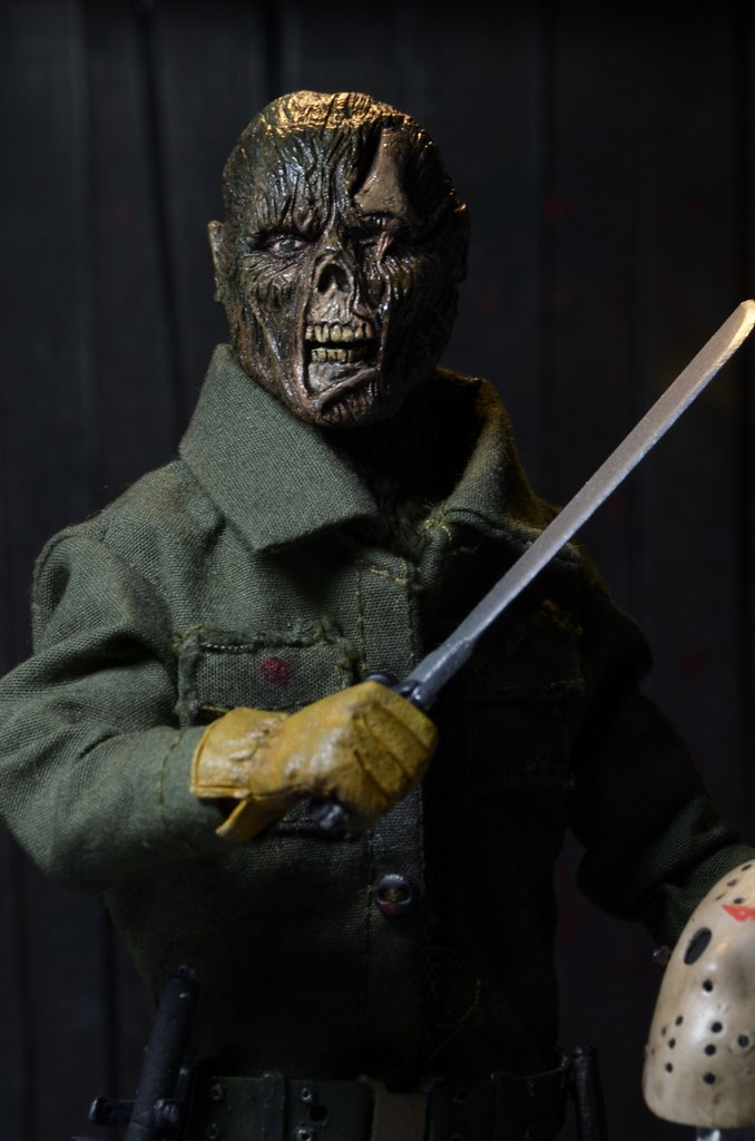 NECA【十三號星期五6】Friday the 13th Part VI: Jason Lives 8 吋人偶作品 殺人魔傑森大復活