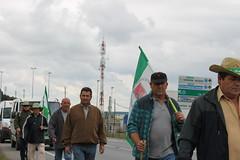 Marcha por la libertad del sindicalista Andr�s B�dalo.