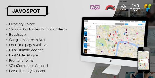 Javo Spot v1.0.6 - Multi Purpose Directory WordPress Theme