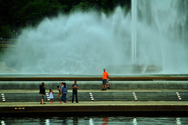 Man With Orange T-Shirt, The Point