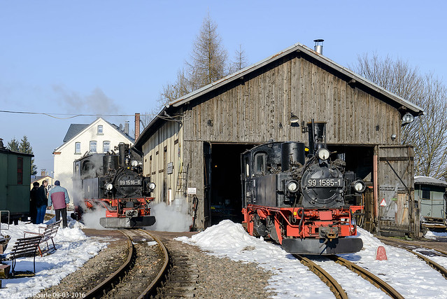 Schönheide Museumsbahn (1/5), 09-03-2016