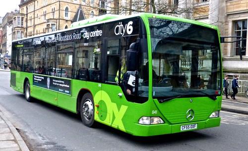 AF55 OXF 'Oxford Bus Company' 839 Mercedes-Benz Citaro on Dennis Basford's 'railsroadsrunways.blogspot.co.uk'