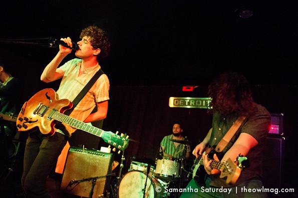 Born Ruffians @ Detroit Bar, Costa Mesa 5/5/2013