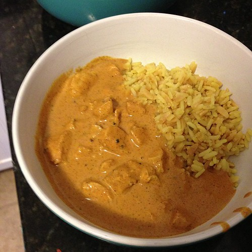 Chicken tikka masala night!