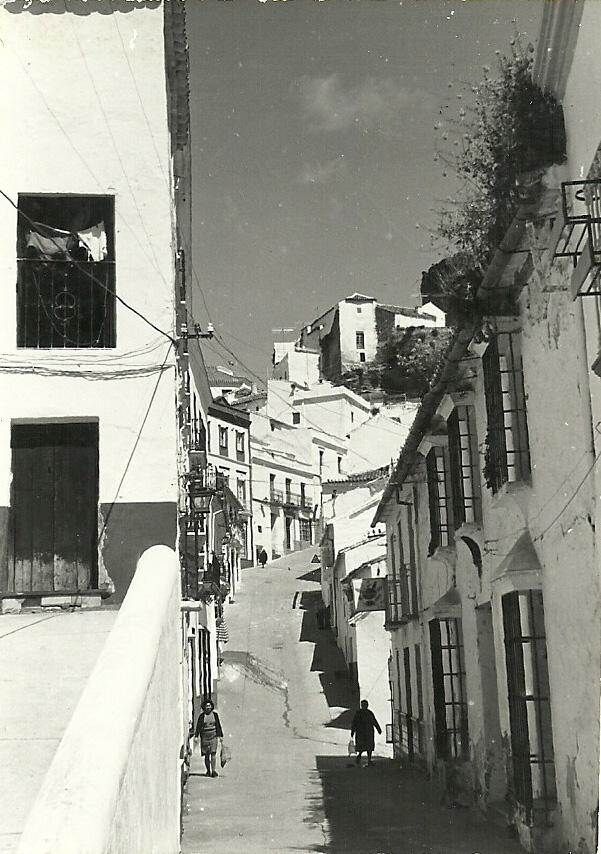 Calle Ronda y pecho de la Plaza. Foto de Antonio Sánchez El Retratista