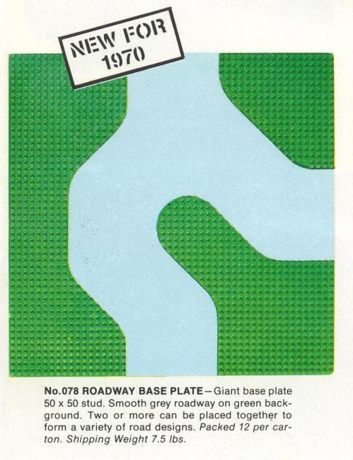 078 1970-71 Samsonite 50x50 Road Plate