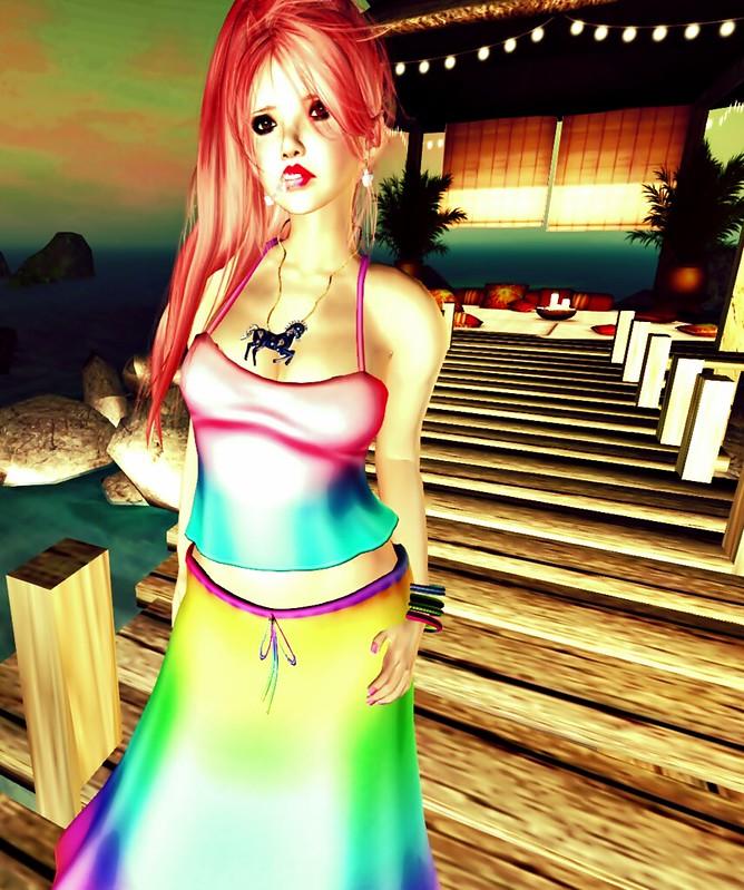 ! Vivace ! - Mesh-Outfit - Katta - RAINBOW2