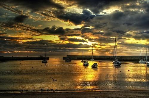 county ireland sea seagulls birds clouds sunrise boats pier nikon fishermen harbour silhouettes wicklow hdr bray d5100 mygearandme mygearandmepremium mygearandmebronze mygearandmesilver mygearandmegold