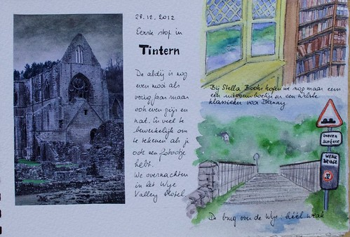 Sketchbook page #1 - Tintern
