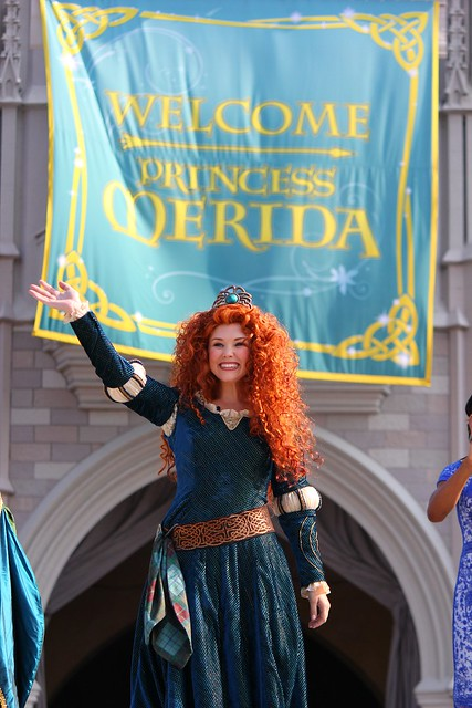 "Merida from ""Brave"" becomes 11th Disney Princess at Walt Disney World"