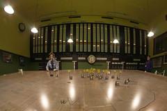 RAF Uxbridge Battle of Britain bunker, map room
