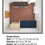 Dimensions Watagua Single Room