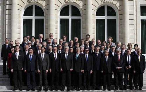 OECD Ministerial Council Meeting 2013: Official Family Photo